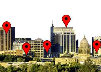 Downtown Boise locations and addresses