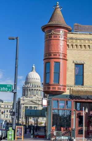 Photo of Downtown Boise Idaho